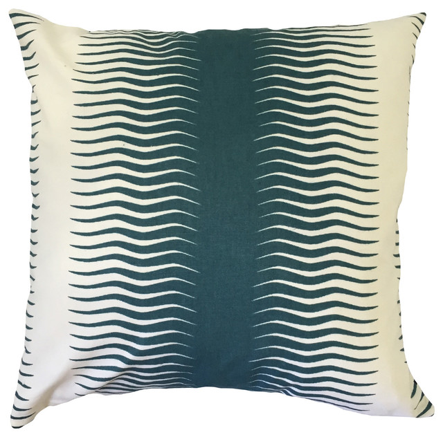 Rashard Geometric Down Filled Throw Pillow Pea Contemporary Outdoor Cushions And Pillows By The Collection