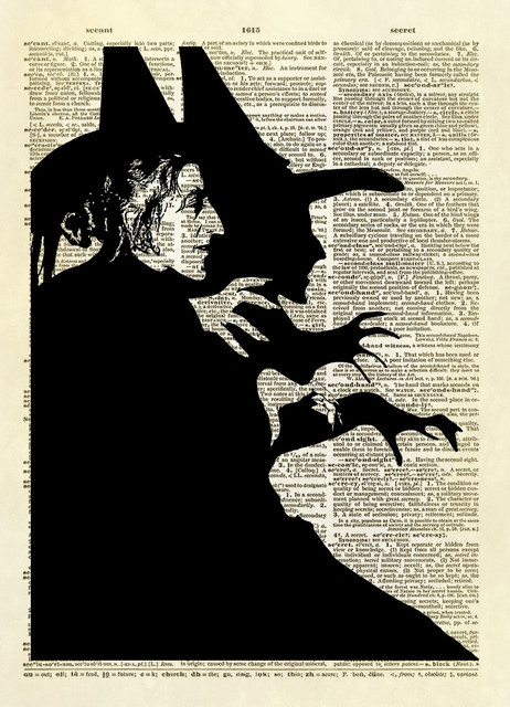 Shop Houzz Altered Artichoke Wizard Of Oz Wicked Witch Of The West Dictionary Art Print