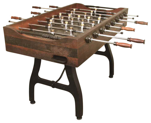 Foosball Bar Game Table Contemporary Game Tables