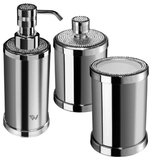 W Luxury Starlight Bathroom Accessories Set With