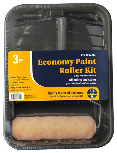 9 Economy Paint Roller Kit.