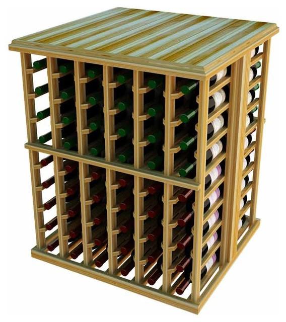 Temecula Wine Storage Table, Light Redwood.