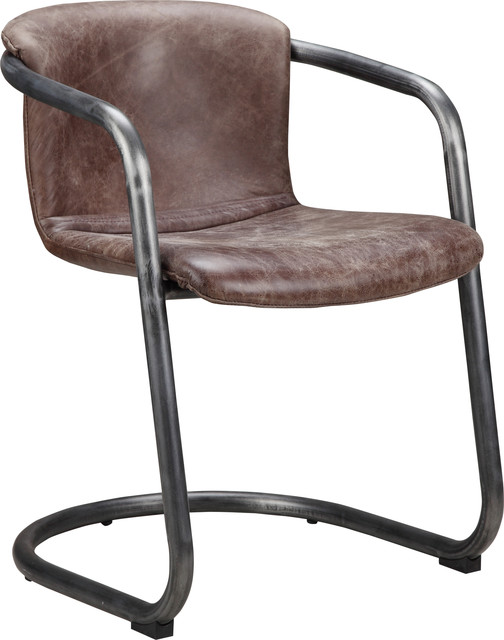 Freeman Dining Chair Antique Black, Set Of 2, Brown.