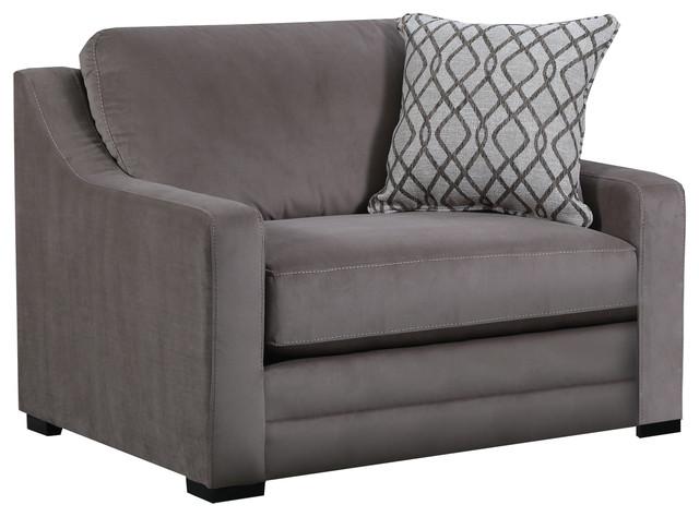 Simmons Upholstery Abbington Shale Chair