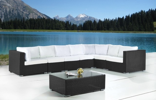 Wicker Patio Furniture Modern Outdoor Sofas Toronto by Velago Patio F