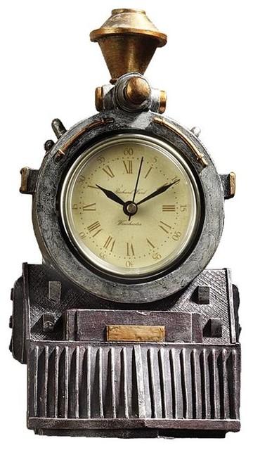 train wall clocks with sound