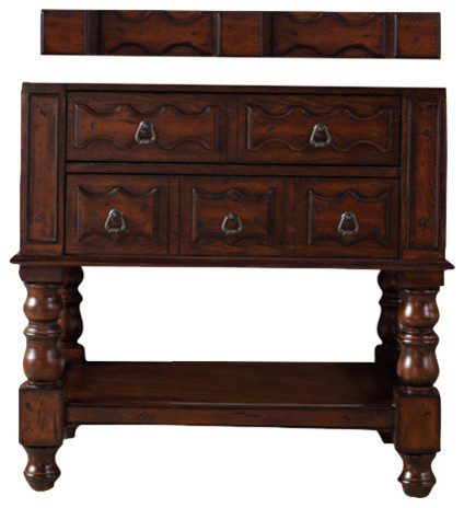 "Claude Bathroom Vanity Cabinet, No Top, 36""."