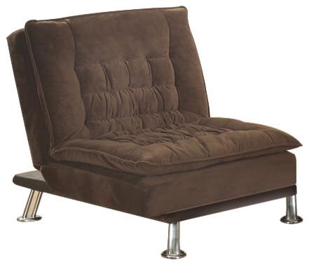 Brown Microfiber Chair.