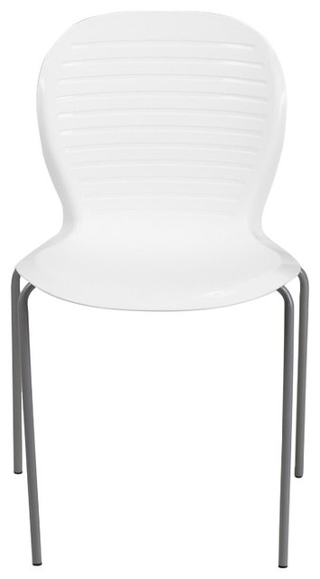 Hercules Series 551 Lb. Capacity White Stack Chair.
