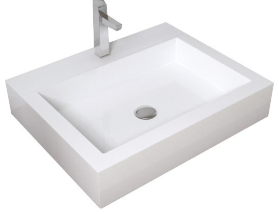 Stone Resin Sink : Badeloft Stone Resin Countertop Sink - Contemporary - Bathroom Sinks ...