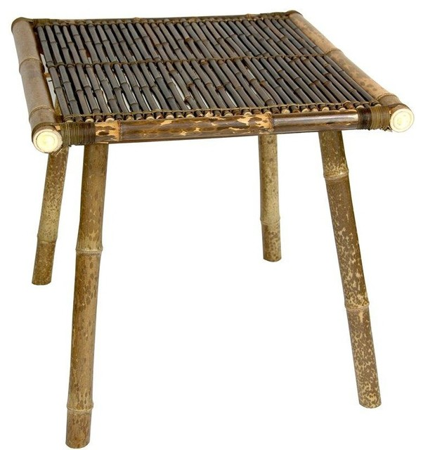 Superior Japanese Bamboo End Table