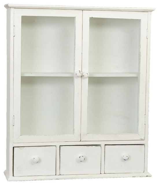 Campagne et style - Wooden Cabinet, White - View in Your Room! | Houzz