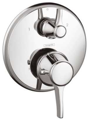 Hansgrohe 15753001 Chrome Therm. Trim With Volume and Diverter
