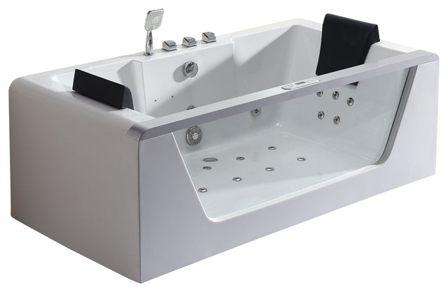 30 x 2 person japanese soaking tub. eago 6u0027 clear rectangular whirlpool bath tub for two with fixtures  bathtubs 2 Person Soaking Tub Square Chinese 21 Jets