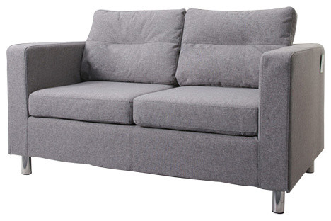 Detroit Loveseat, Ash.