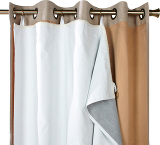 """Thermalogic """"Ultimate Liner"""" Blackout Liner - Transitional - Curtains - by Commonwealth Home ..."""