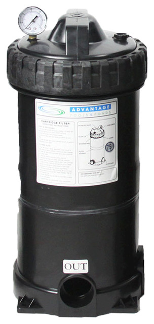 75 Sq. Ft. Stand Alone Cartridge Filter For Pool And Spa.
