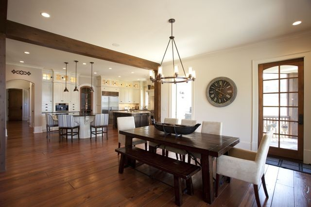 Cuscowilla Lake Home - Indian Trail - Traditional - Dining ...