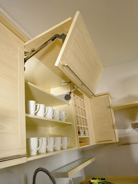 Vertical Overhead Cupboard With Joint Fold Lift Mechanism
