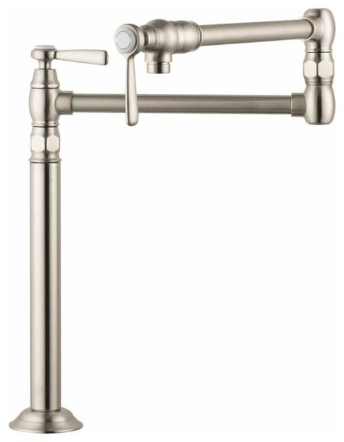 Axor 16860 Montreux Deck Mounted Pot Filler Faucet Traditional Pot Fillers By Buildcom