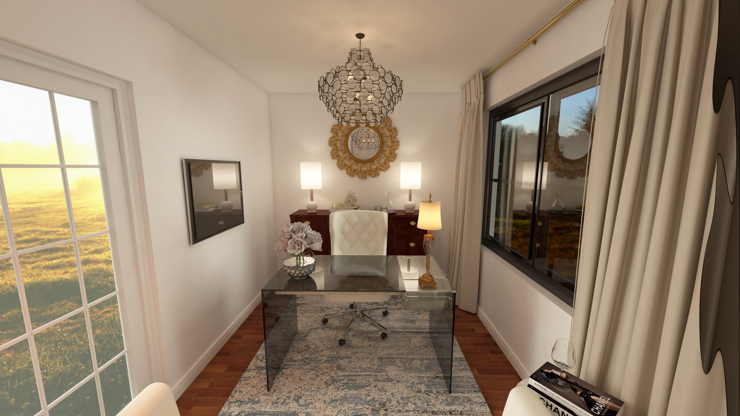 Loudonville Home Office Design