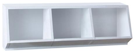 Nordic Wooden Storage Box, 3 Compartments
