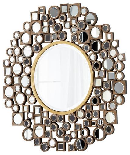 Jorn Contemporary Round Mirror X-50750.
