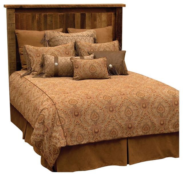 el dorado ii basic set cal king rustic duvet covers and duvet sets by wooded river inc. Black Bedroom Furniture Sets. Home Design Ideas