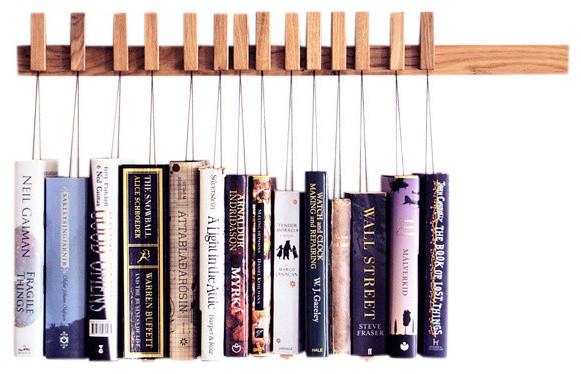 Book Rack, Oak.
