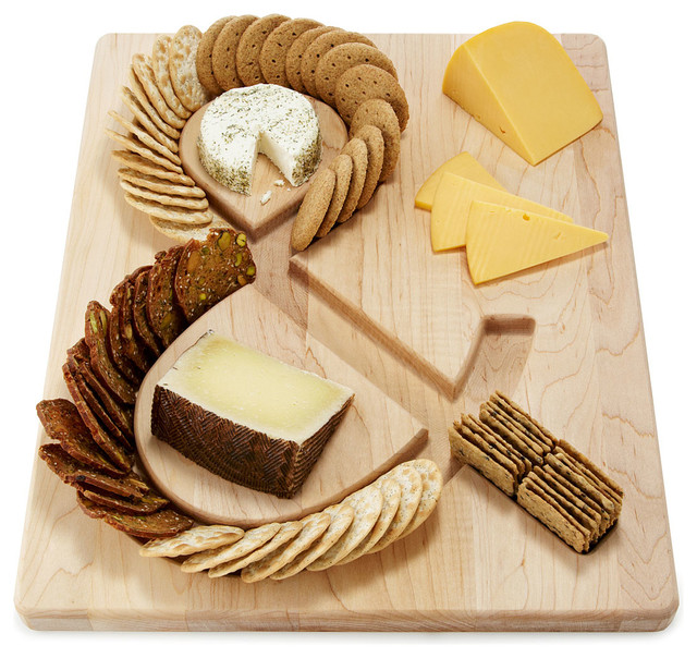 Cheese and Crackers Serving Board