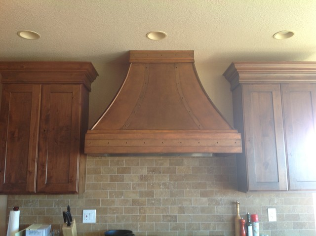 Custom Faux Copper Range Hood