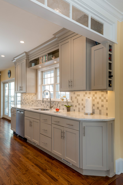 Island Heights, NJ Kitchen - Transitional - New York - by ...