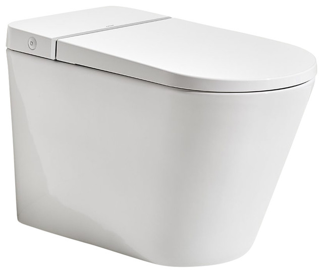 Primus Tankless Toilet Contemporary Toilets By Axent