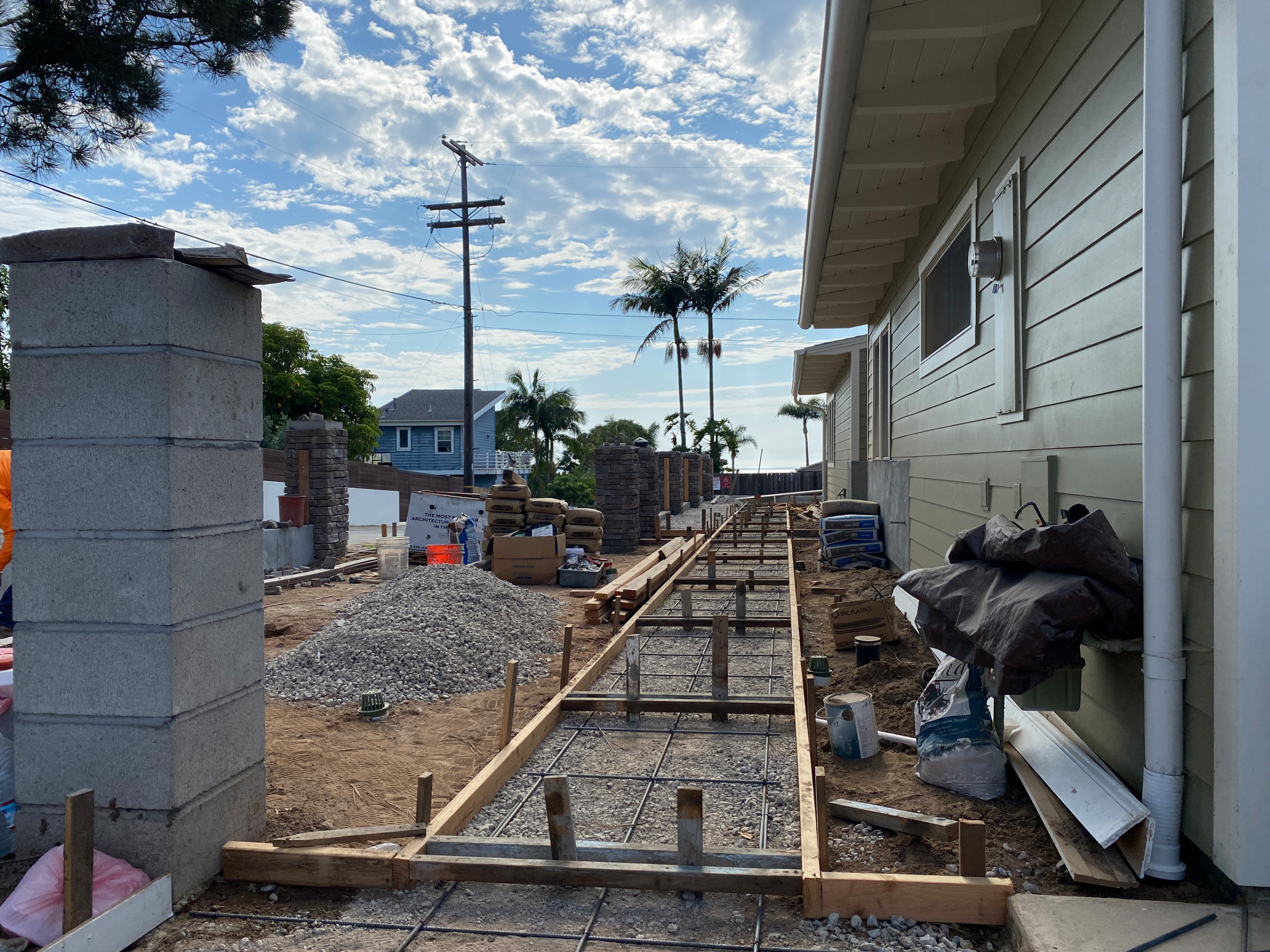 Forming For Concrete in Solana Beach