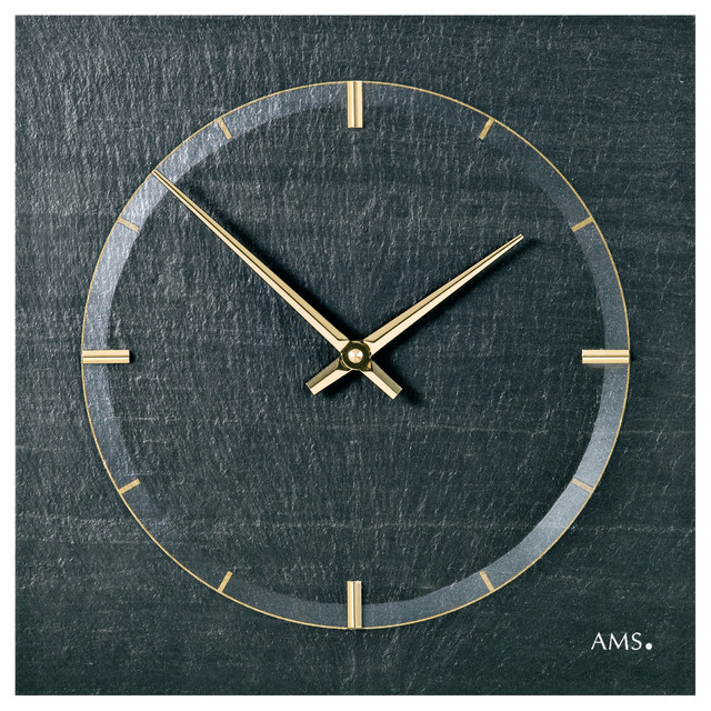 Horticulus Quartz Wall Clock Traditional Wall Clocks by AMS