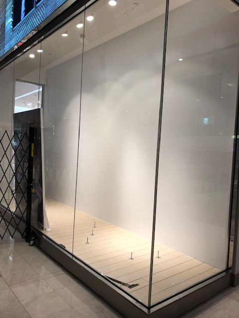 Commercial Maintenance Painting - fashion retail