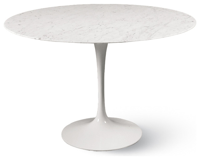 Saarinen Round Dining Table White, 48 Round Marble Table Top