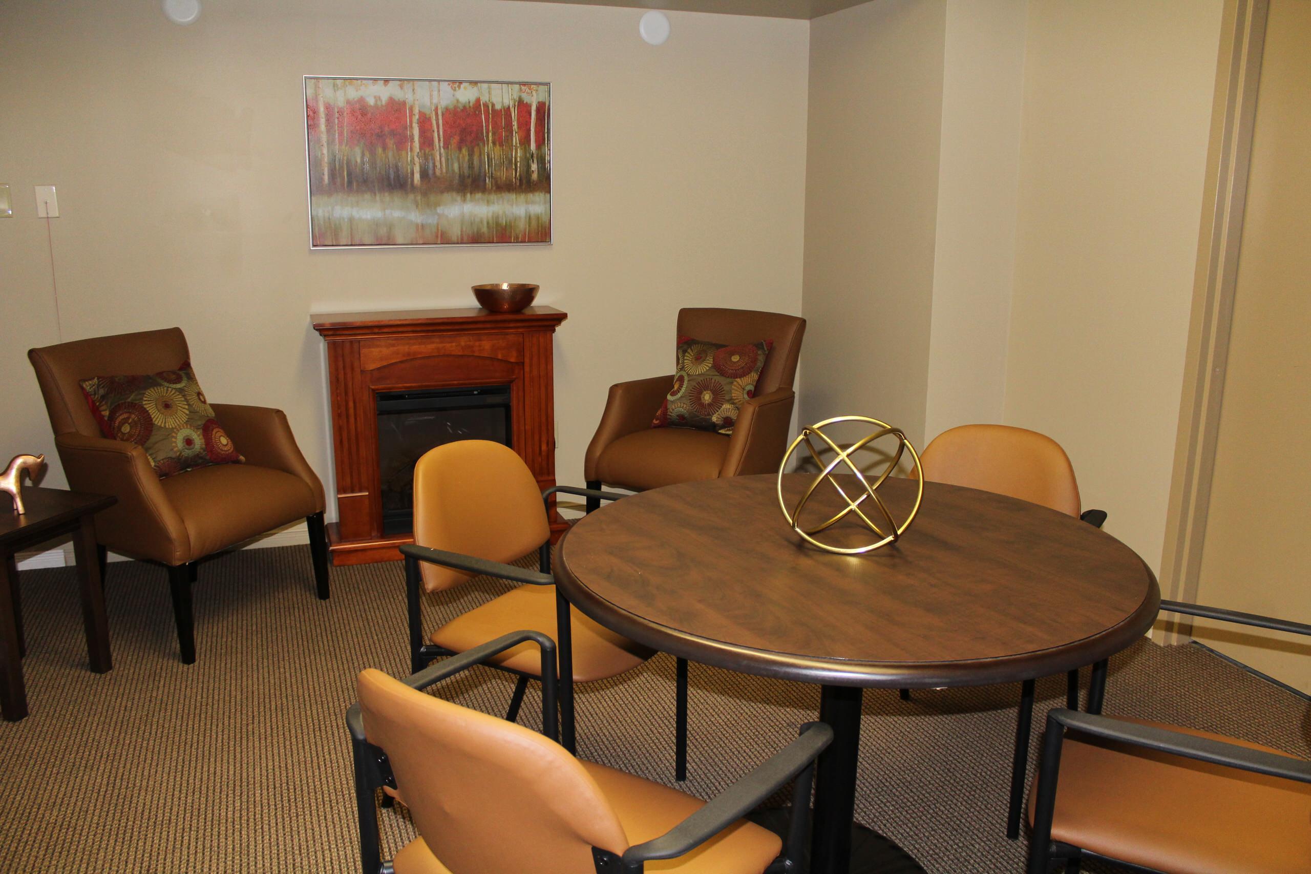 retirement community interiors- simcoe terrace, barrie
