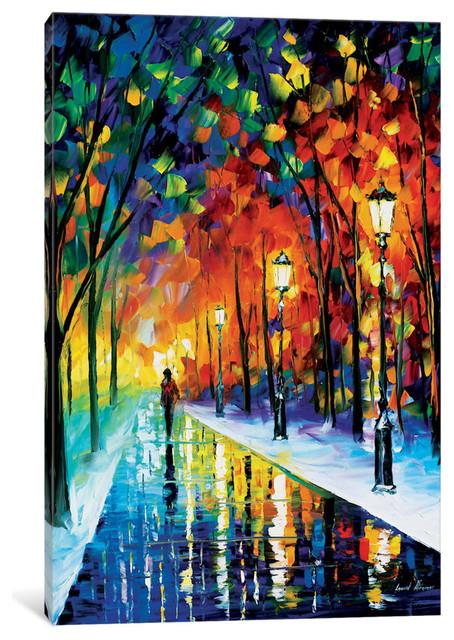 """frozen Path Gallery"" By Leonid Afremov, 18x12x0.75""."