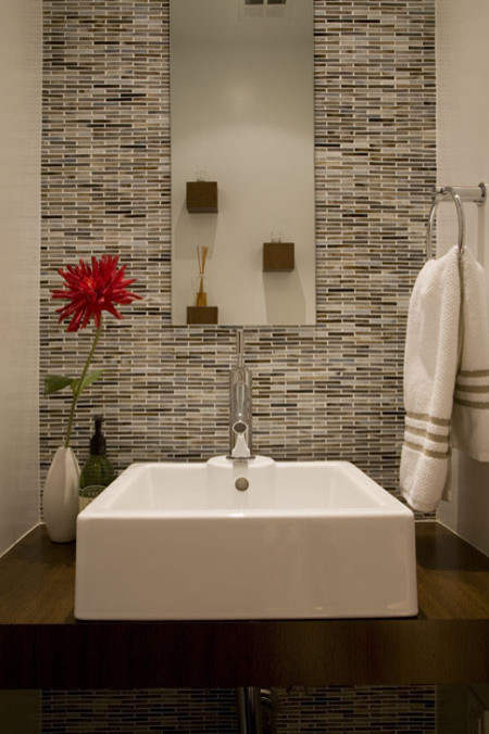 FORMA Design modern powder room