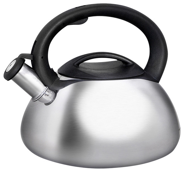 Primula 3 Qt Stainless Steel Catalina Whistling Tea Kettle.