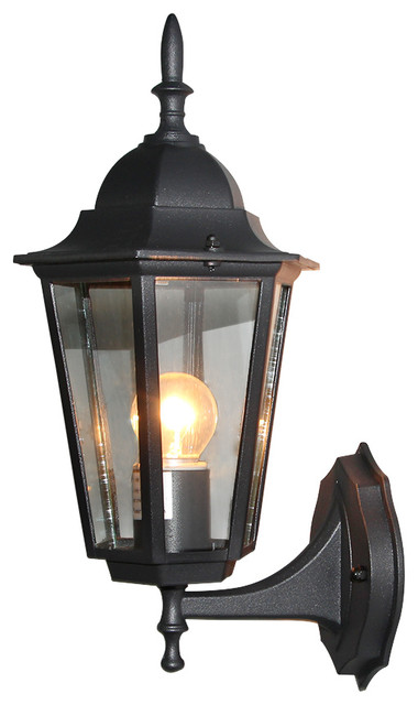 External Wall Lights Traditional : Raine 1-Light Outdoor Wall Lantern - Traditional - Outdoor Wall Lights And Sconces - by LNC HOME