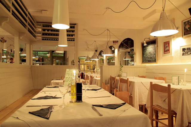 Before and after italian restaurant interior design