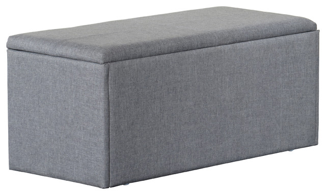 Kirby Storage Bench - Contemporary - Accent And Storage Benches - by Camden Isle