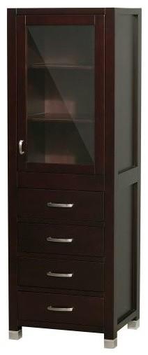 Wyndham Collection Wcv206 Shaina Linen Tower Bathroom Cabinets