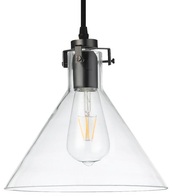Delphinus LED Pendant Light, Architectural Bronze, 10