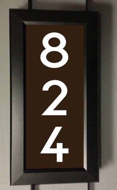 Illuminated Numbers Best Address Led Illuminated House Numbers House Numbers  Seattle . Decorating Design