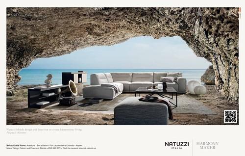 Natuzzi Blends Design And Function To Create Harmonious