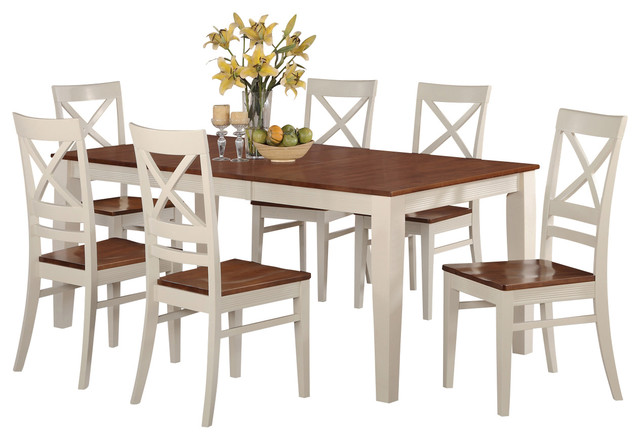 Quin w kitchen table set contemporary dining sets by dinette4less - Formal contemporary dining room sets ...