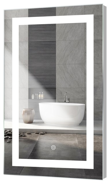 """Kent LED Mirror With Touch Sensor, 24""""x40"""""""